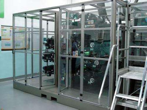 自动化设备PC耐力板防护罩