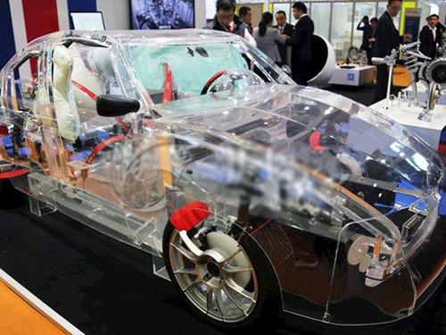 汽车行业专用透明板